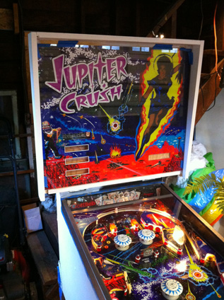 Pinball with Backglass